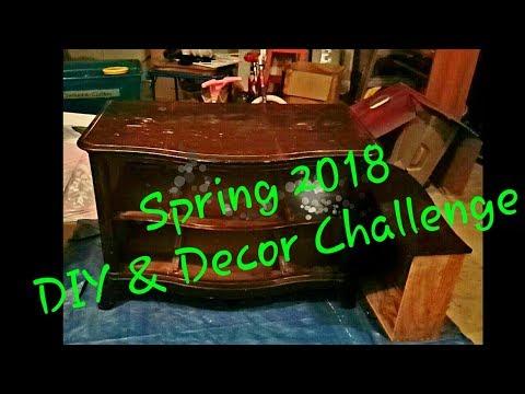 Dresser | TV Stand Makeover | 2018 Spring DIY & Decor Challenge