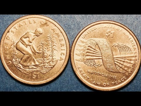 2009 & 2010 Native American Dollar Coins