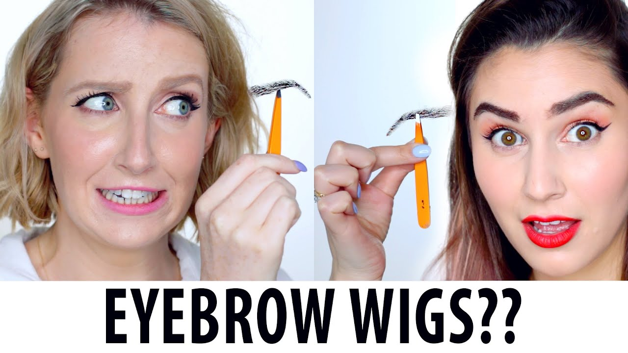 Image result for eyebrow wig image
