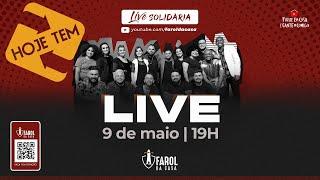 Live Solidária I FAROL DA CASA I Fique em casa e ADORE #comigo