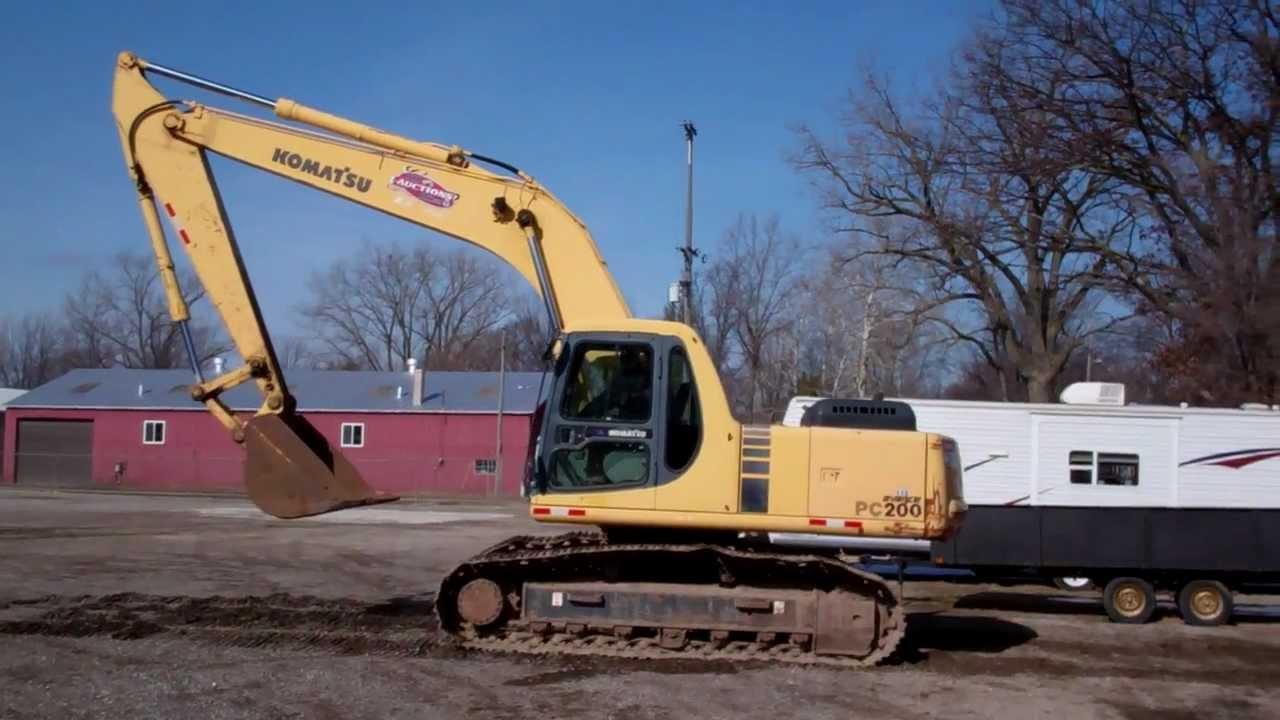 Komatsu Pc 200 6 Excavator