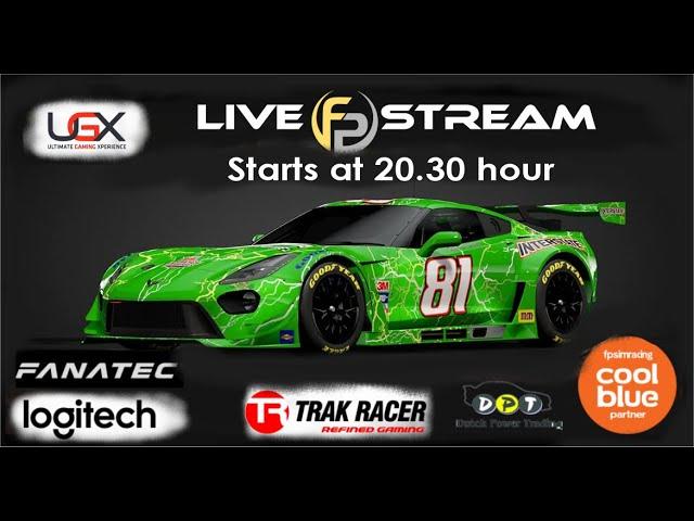 Livestream FP SimRacing Corvette C7 Cup Race 2  AM
