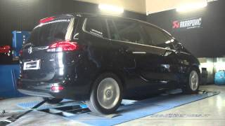 Opel Zafira Tourer 2.0 cdti 130cv Reprogrammation Moteur @ 181cv Digiservices Paris 77 Dyno