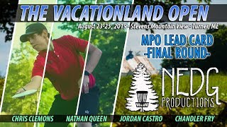 The 2019 Vacationland Open - MPO Final Round