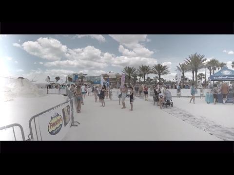 Sand Skulpturen Auf Clearwater Beach Florida
