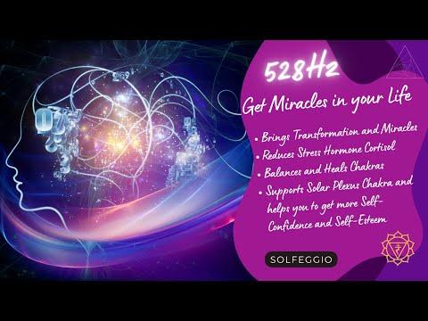 💕528Hz - Erhöhe Deine Frequenz - Liebes Energie - Kreiere Wunder - Positiver Energieschub💕