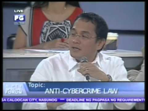 Part 2: Anti-Cybercrime Law a PTV Special Forum - PTV Special Coverage [Sept. 28, 2012]