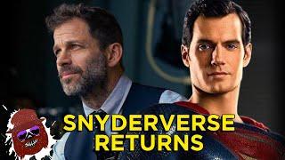 Dceu: Henry Cavill Returns As Superman, Zack Snyder Thanks Fans