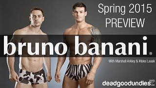 Bruno Banani Spring/Summer 2015 Preview
