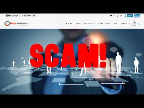 """Tek PC Solutions"" ""HarkenData"" ""Tek-Data"" ""Tek-PC"" Tech Support Scammers 