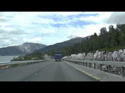 Norwegia / Norge - droga E6 - Mosjoen , Korgen , Dalselv