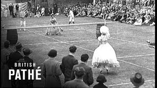 Tennis Of The 1870s (1938)