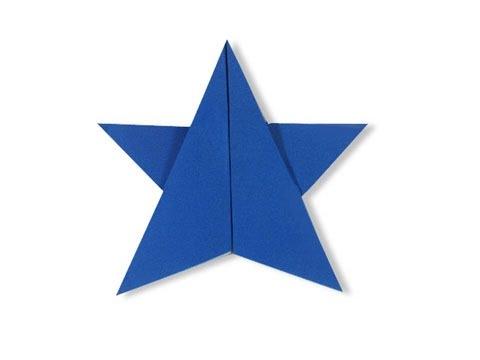 Cách gấp, xếp ngôi sao năm cánh bằng giấy origami – Video hướng dẫn