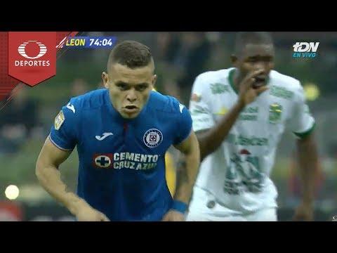 Doblete De Jonathan Rodríguez | Cruz Azul 2 - 3 León| Copa MX - J2 - Cl19 | Televisa Deportes