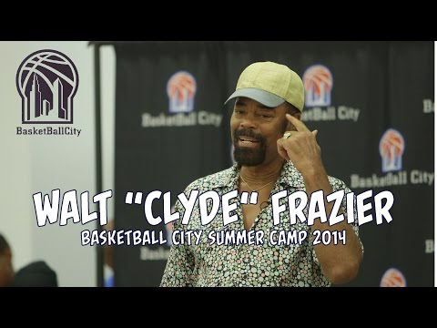 Walt Clyde Frazier Basketball City Camp | 2014