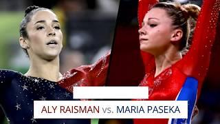 Aly Raisman vs. Maria Paseka: Scoring Comparison