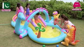 Intex Dinoland Inflatable Play Center - Age 3+ #57135 in Pakistan