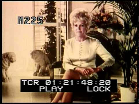 Stock Footage - Betty Grable, Playtex Commercial