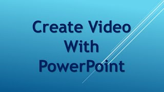 Create Video With PowerPoint(http://prefertoworkathome.com This is how I create a video using Microsoft PowerPoint. The original video is 'Shortcut Wealth Creator Review ..., 2015-08-12T09:40:53.000Z)
