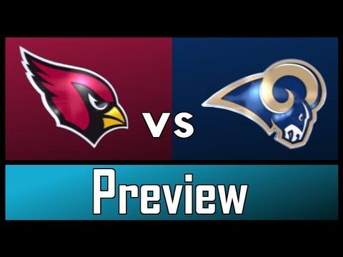 NFL - Arizona Cardinals Vs St. Louis Rams - NFL Week 5 Preview & Predictions (2012-2013)