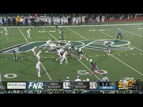 High School Football: Pine-Richland Vs. North Allegheny
