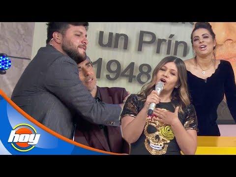 Martha Figueroa hace llorar a Raúl Araiza con su interpretación | Canta la palabra | Hoy
