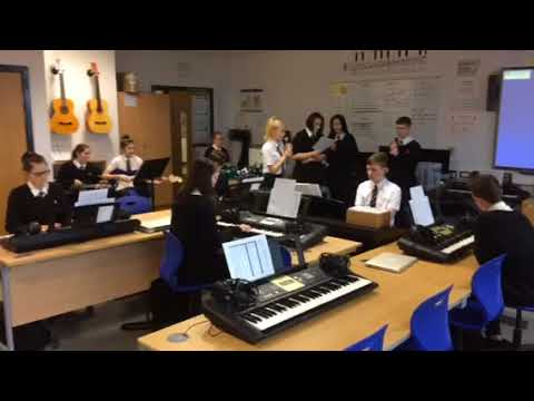 Hyde Music Department - GCSE Class perform Don't Look Back in Anger