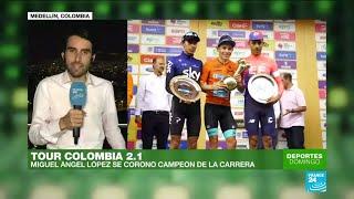 Resumen del Tour Colombia 2.1 en Deportes domingo de France 24