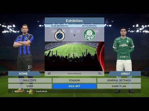 Club Brugge KV vs SE Palmeiras, Jan Breydel Stadion, PES 2016, PRO EVOLUTION SOCCER 2016
