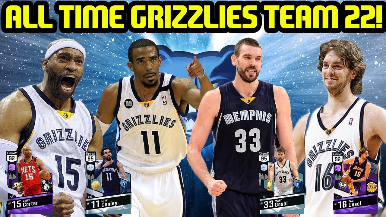 ALL TIME GRIZZLIES TEAM 22! GASOL BROS! NBA 2K17 MYTEAM ONLINE GAMEPLAY
