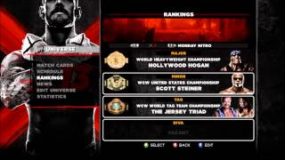 WWE 13 - Monday Night War Game Save [X360]