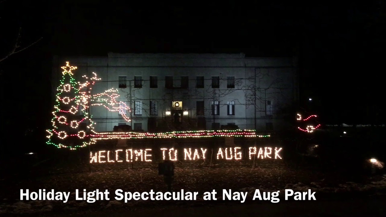 Holiday Light Spectacular at Nay Aug Park - YouTube