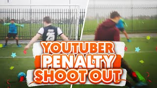 Huge youtuber penalty shootout!!