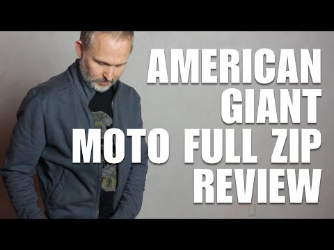 American Giant Moto Full Zip Reviewed