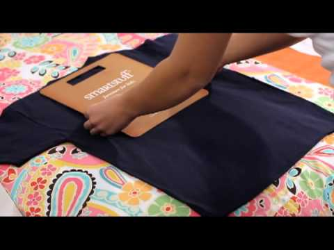 3a00768d How to fold a shirt using a folding board - YouTube