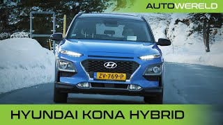 Hyundai KONA Hybrid (2020) review | Winterspecial | RTL Autowereld test