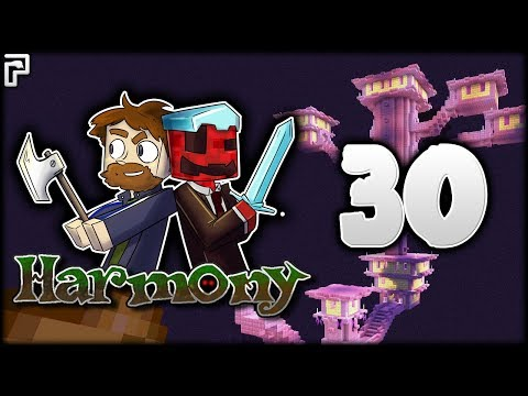 Minecraft Harmony   Back To The End! Ender Pearl Ghost!   Multiplayer Modded Survival [Episode 30]
