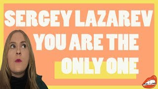 SERGEY LAZAREV - 'YOU ARE THE ONLY ONE' // 2016 EUROVISION TELEVOTE WINNER RUSSIA | REACTION