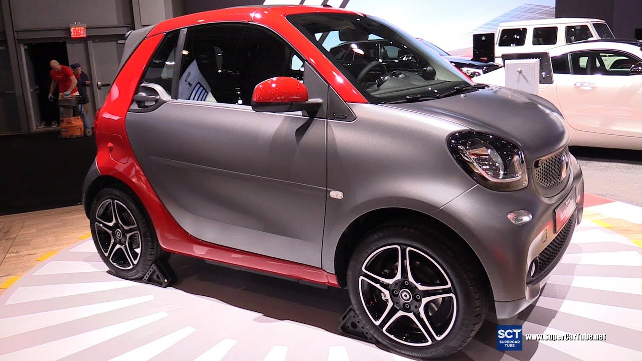 2017 smart fortwo cabrio exterior and interior. Black Bedroom Furniture Sets. Home Design Ideas