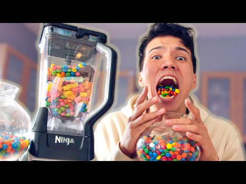 Candy Smoothie Challenge!!