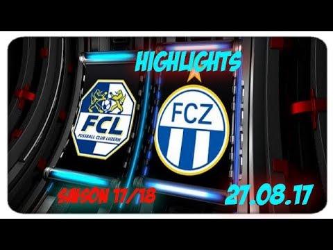 Fc Luzern vs Fc Zürich (27.08.17)