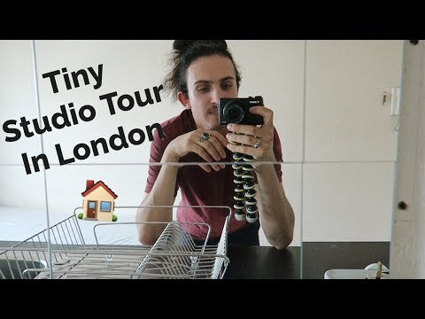 Tiny Studio Flat Tour In Central Of London