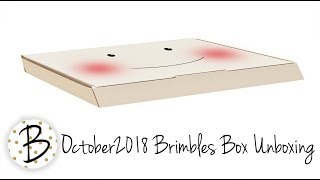 October 2018 Brimbles Box Unboxing & a look at the collection