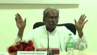 Talk by Guruji Ravindra Sharma