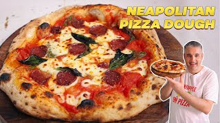 How to Make NEAPOLITAN PIZZA DOUGH for Beginners