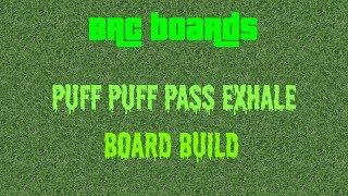 Puff longboard build
