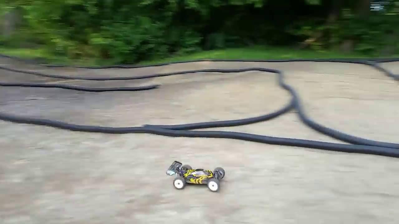C&C Raceway: Backyard Homemade RC Race Track - YouTube