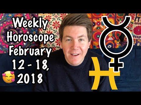Weekly Horoscope for February 12 - 18, 2018   Gregory Scott Astrology