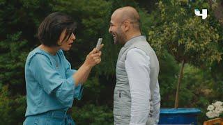 """#جسور_والجميلة   طيبة """"كورهان"""" ليس لها حدود .. شاهد كيف اسعد """"سوهان"""" بخبر أنها صارت عمّة !"""