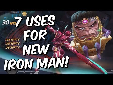 7 Uses For Iron Man (Infinity War) - Tips & Tricks - Marvel Contest Of Champions
